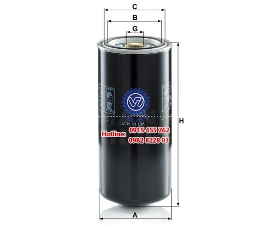 Lọc dầu WD 13145